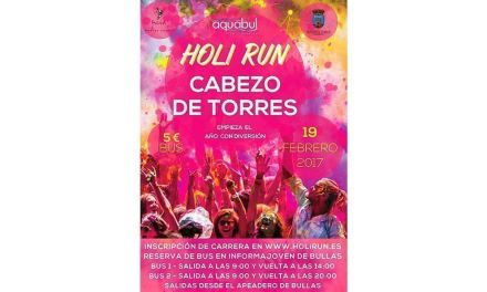 Aquabul viaja a Cabezo de Torres a la carrera de los colores