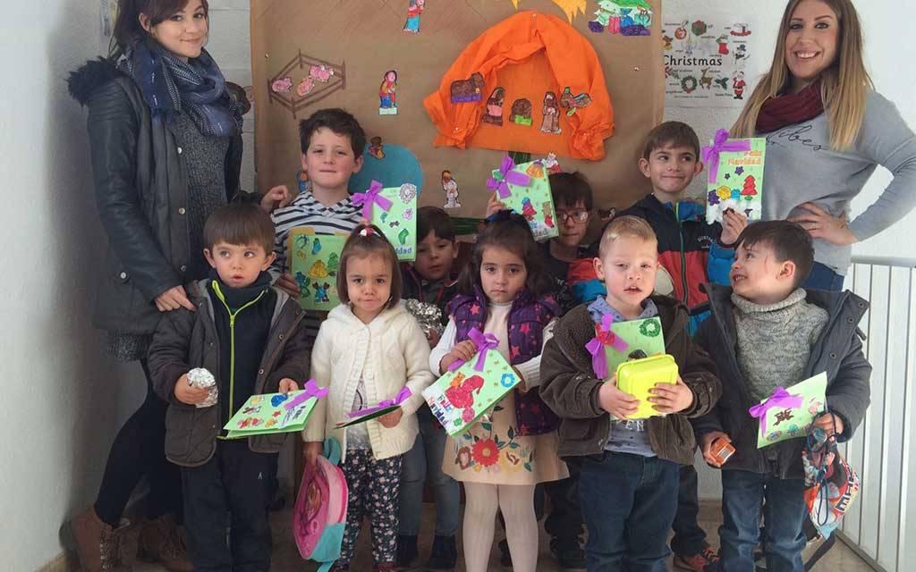 Escuela de Navidad organizada por la Asociación Joven de Barranda