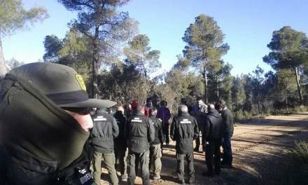 Técnicos y agentes medioambientales de la comarca participan en una jornada sobre señalamiento forestal