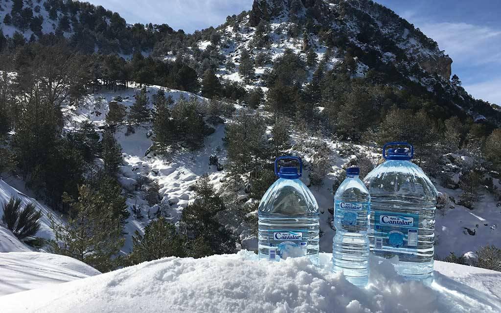 Agua de Cantalar reanuda su actividad tras las nevadas