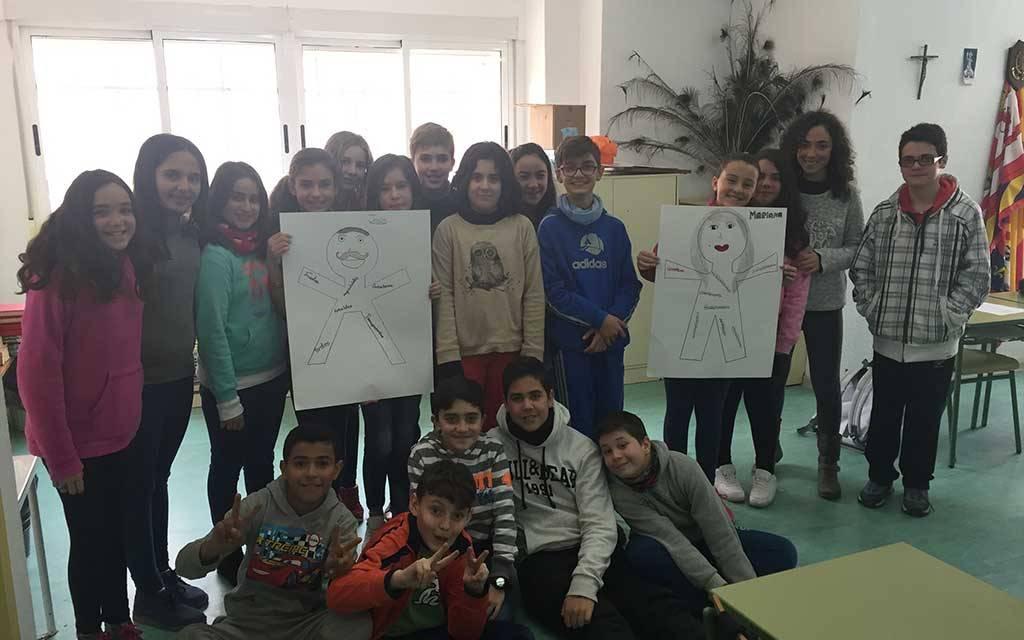 Un taller contra la violencia machista para el alumnado del Juana Rodríguez de Moratalla