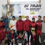 Centenares de corredores participan en la tercera edición de la Trail 'El Romero'