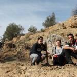 Cuarenta voluntarios participan en la reforestación del Salto del Usero de Bullas