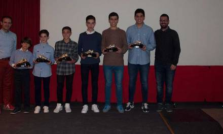 La Asociación Comarcal del Noroeste y Río Mula entrega los Trofeos de Fútbol Cardozo-Bera