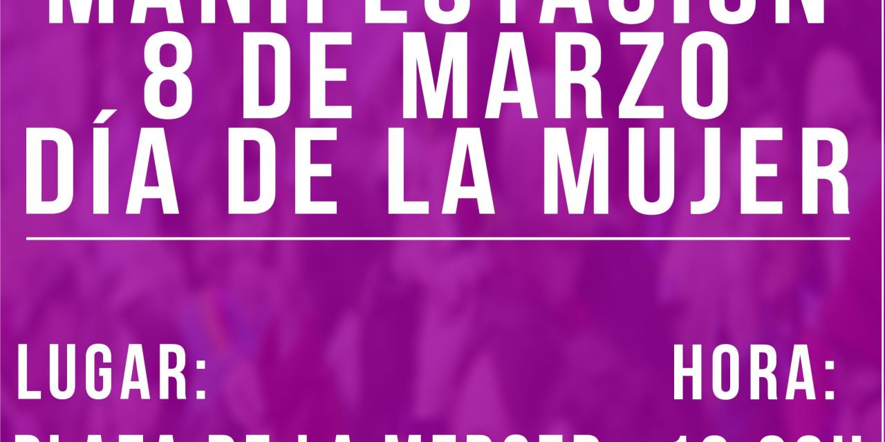 8 de marzo internacional en Murcia