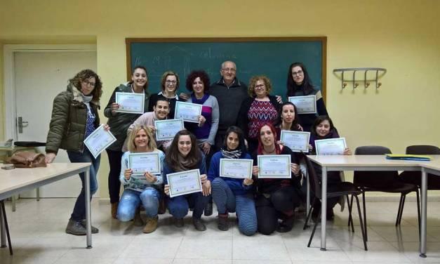 Finaliza un nuevo curso de lenguaje de signos en Moratalla