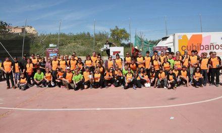 Más de 500 participantes se dan cita en Campos del Río para celebrar el Día del Senderista de la Región de Murcia