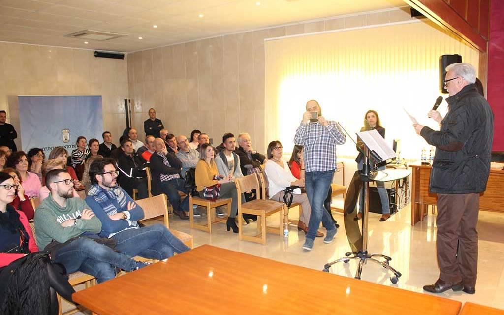 Homenaje por su jubilación al trabajador del Ayuntamiento de Bullas Pedro Puerta