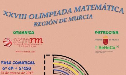 Calasparra, sede fase comarcal de la Olimpiada Matemática