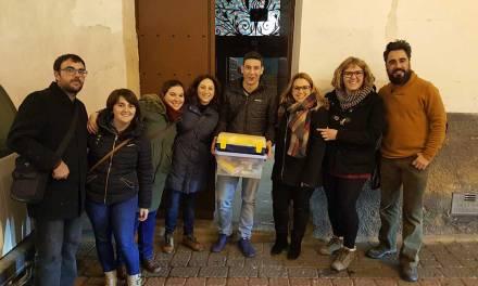 Exitosa campaña de recogida de material humanitario en Caravaca impulsada por IU y Podemos