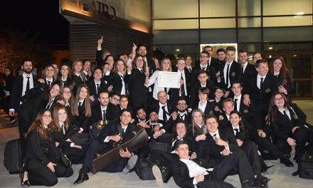 La Asociación Musical Villa de Bullas gana el certamen regional de Molina de Segura