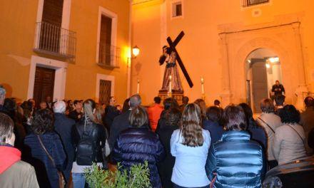 Vía Crucis organizado por la Cofradía Nuestro Padre Jesús Nazareno de Cehegín