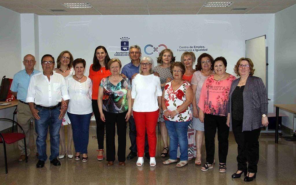 La Concejalía de Servicios Sociales, Sanidad y Mujer de Caravaca clausura la primera edición del taller de Risomemoria