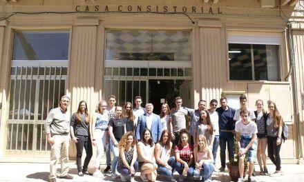 Estudiantes de secundaria de Donzdorf visitan Calasparra