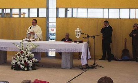 La misa por los cofrades difuntos en el cementerio cierra el programa oficial de Fiestas 2017