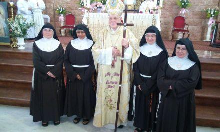 El Convento de la Encarnación acoge la profesión solemne de Sor Cecilia del Señor Misericordioso