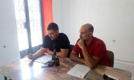 IU-Verdes Caravaca afea al Partido Popular que no retire la moción sobre el pabellón de Archivel