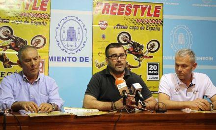 La prueba Motocross Freestyle se celebra esta noche en la Plaza de Toros de Cehegin
