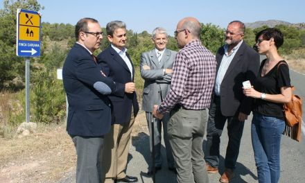 La Comunidad mejorará la carretera Aledo-Bullas en la zona de acceso al Parque Regional de Sierra Espuña