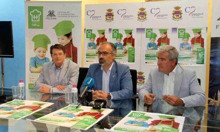 Caravaca acoge este sábado el concurso 'Huerta Chef' para promover recetas saludables entre los escolares