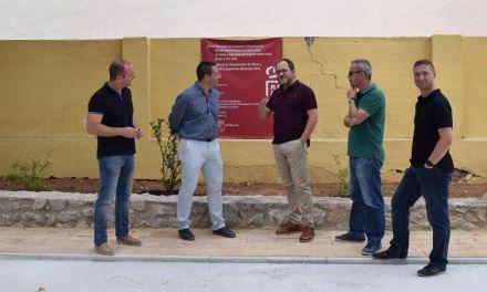 Fuente Librilla recupera su parque con la inversión del Plan de Obras y Servicios de la Comunidad