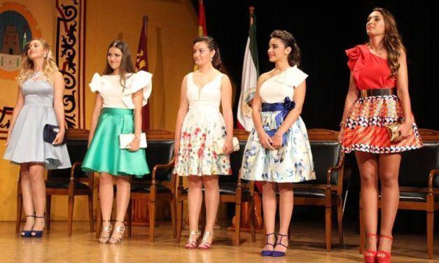 Presentadas la Damas de las Fiestas Patronales de Cehegín