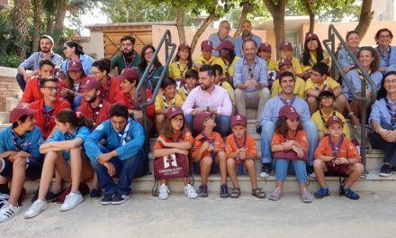 La Comunidad promociona el Año Santo de Caravaca de la Cruz en los dos principales eventos del movimiento scout de este verano