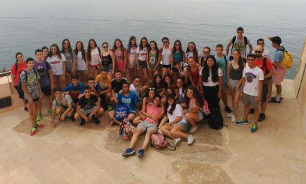 Juventud Caravaca clausura el programa 'Viaje saludable' con una convivencia en Puntas de Calnegre