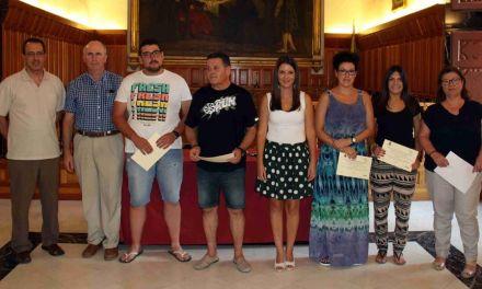 El Ayuntamiento de Caravaca entrega ayudas a emprendedores dentro del Plan de Fomento Emprensarial y de Empleo