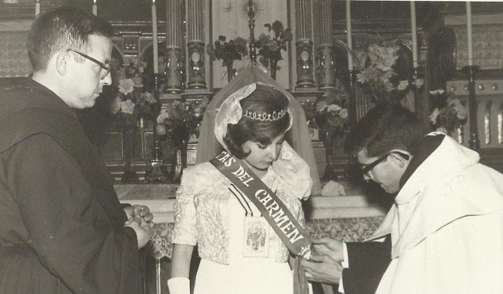 Las Fiestas del Carmen, medio siglo atrás