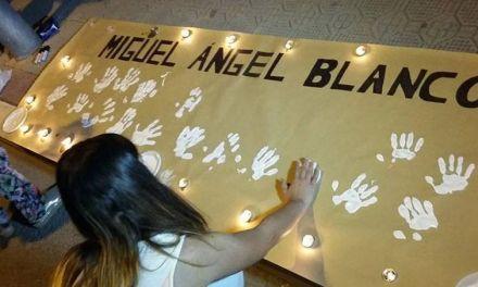NNGG de la Comarca del Noroeste rinde homenaje a Miguel Ángel Blanco en el 20 aniversario de su asesinato