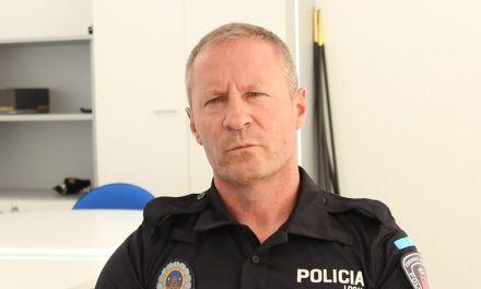 Manuel Fernández, nueve jefe de policía de Cehegín