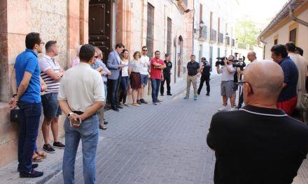 Minuto de silencio en Cehegín en memoria de Miguel Ángel Blanco y resto de víctimas del terrorismo