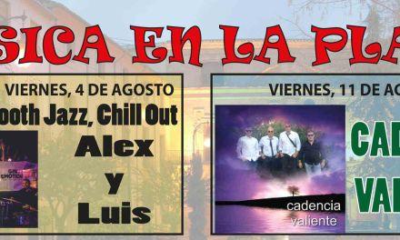 Los viernes de agosto la Plaza del Arco de Caravaca acoge actuaciones musicales gratuitas