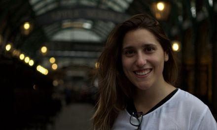 Alba de Maya Ramos, ganadora del concurso para el cartel anunciador de las Fiestas Patronales 2017