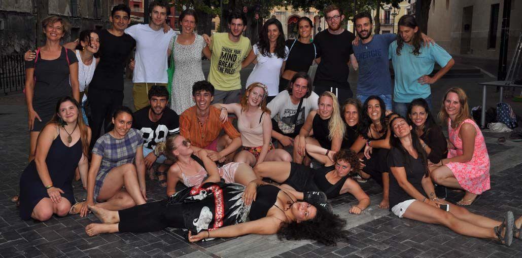 Una exhibición en la Glorieta para clausurar el encuentro juvenil Inner Dance celebrado en Caravaca