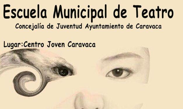 Abierto el plazo de inscripción en la 'Escuela Municipal de Teatro' de Caravaca