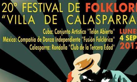 El Festival de Folclore Villa de Calasparra celebra 20 años