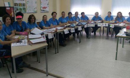 Alumnas trabajadoras de Bullas obtienen el carné de manipulador de productos fitosanitarios