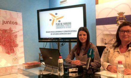 El Ayuntamiento de Caravaca otorga ayudas por nuevas empresas y contrataciones, a través del Plan de Fomento Empresarial y Empleo