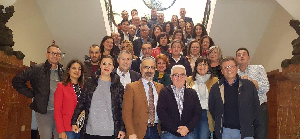 José Sánchez Cortes se jubila tras veintiocho años en el Ayuntamiento de Caravaca