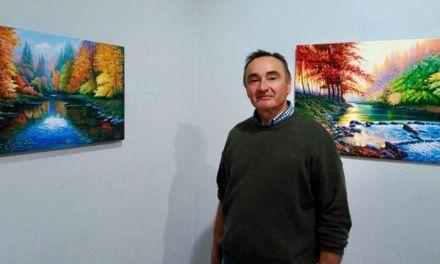 El Plan de Espacios Expositivos lleva a Bullas los paisajes y retratos de Pedro Antonio Abril