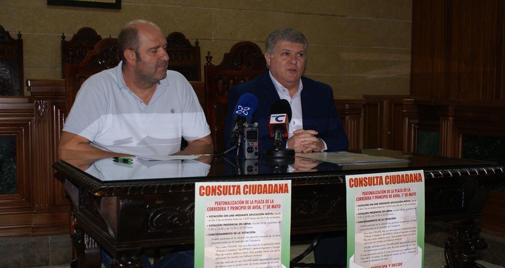 El Ayuntamiento de Calasparra realizará una consulta ciudadana sobre la peatonalización de la plaza de la Corredera y principio de la avenida Primero de Mayo