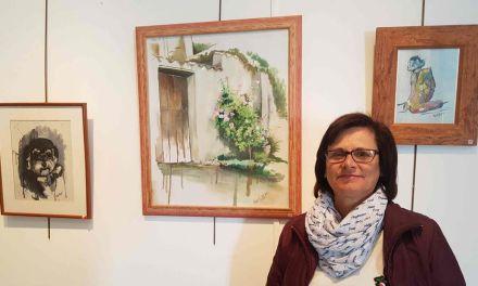 La artista caravaqueña Raquel Rosique expone hasta el 30 de noviembre en la Casa de la Cultura