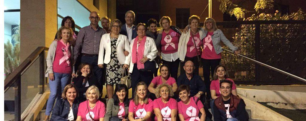 Conmemoración en Bullas del Día Mundial del Cáncer de Mama