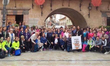 Caravaca realiza una marcha urbana por el 'Día Internacional de la Eliminación de la Violencia contra las Mujeres'