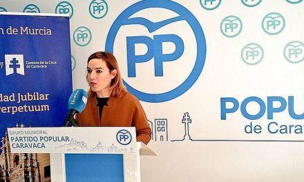 El PP considera que la falta decisiones frena el desarrollo socioeconómico del municipio de Caravaca