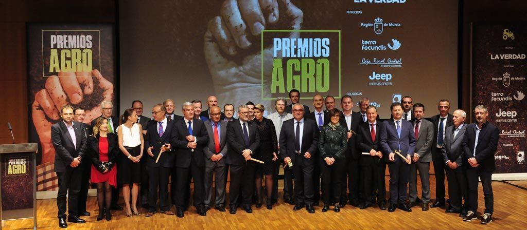 Marín Giménez Hnos. SA., distinguida por impulsar la industria agroalimentaria en la Región de Murcia