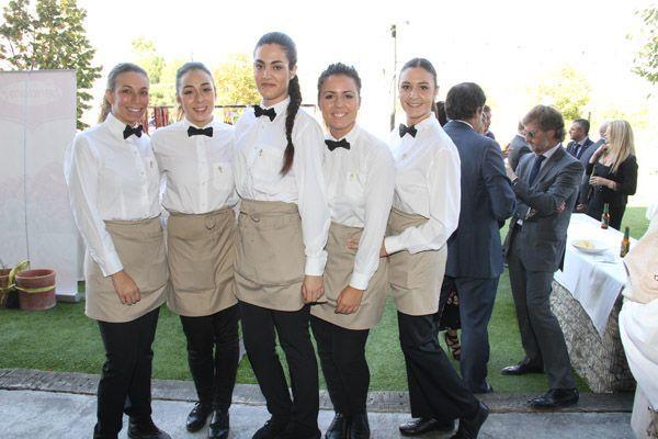 Camareras del restaurante Pedro Marín