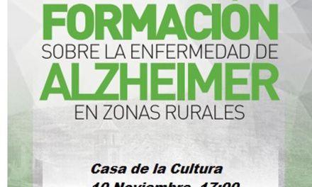 Cehegín acogerá un taller de formación sobre el Alzheimer en zonas rurales